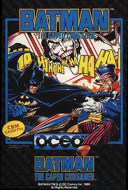 Обложка игры Batman the Caped Crusader