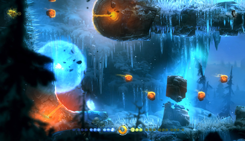 Скриншот из игры Ori and the Blind Forest