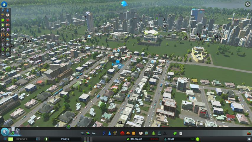 Скриншот из игры игры Cities: Skylines