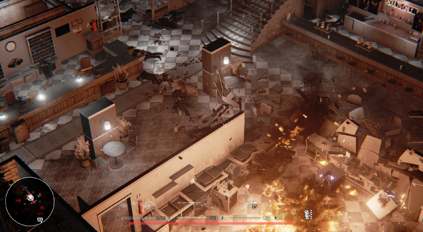 Скриншот из игры Hatred