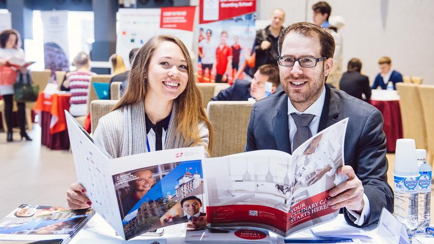 16 февраля 2019 года в Екатеринбурге пройдет бесплатная международная выставка «Образование за рубежом — шаг в будущее!». Фото предоставлено организаторами