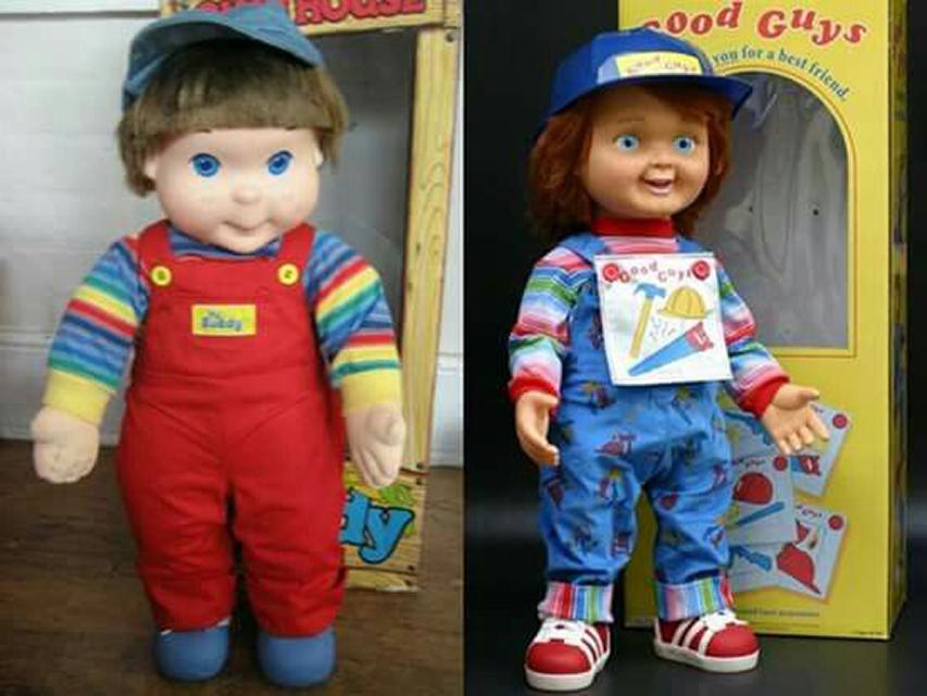 Та самая кукла и ее кинодвойник