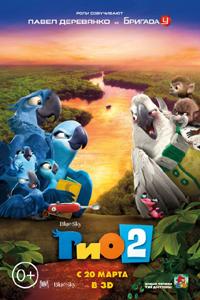 Постер фильма «Рио 2»