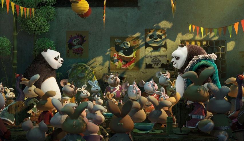 Кадр из фильма «Кунг-фу Панда 3»