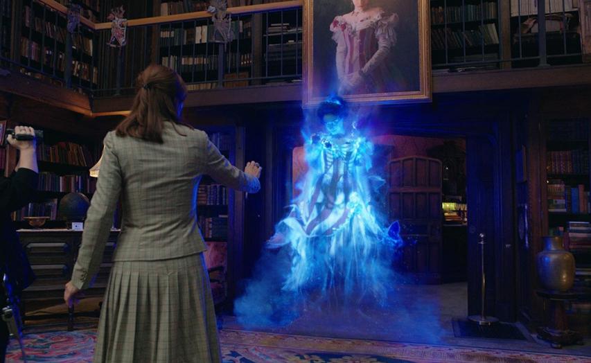 Кадр из фильма «Охотники за привидениями»