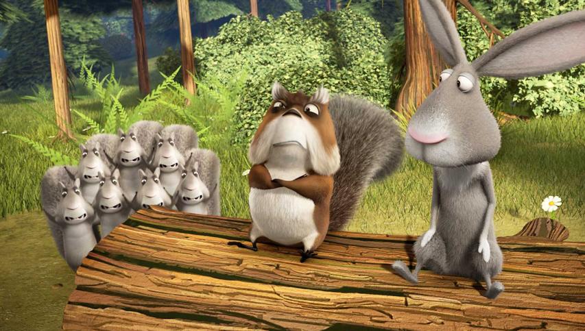 Кадр из фильма «Сезон охоты: Байки из леса»