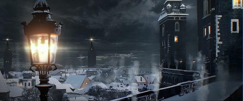 Кадр из фильма «Эбигейл»