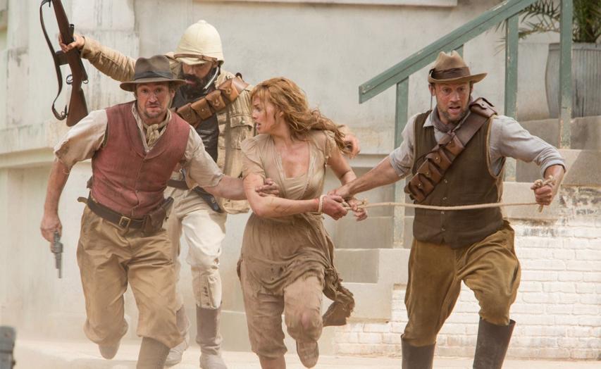 Кадр из фильма «Тарзан: Легенда»