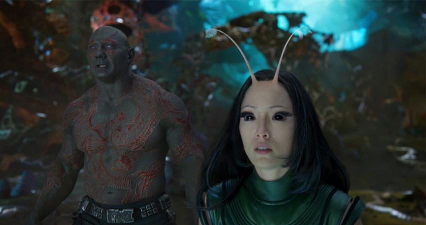 Кадр из фильма «Стражи галактики. Часть 2»