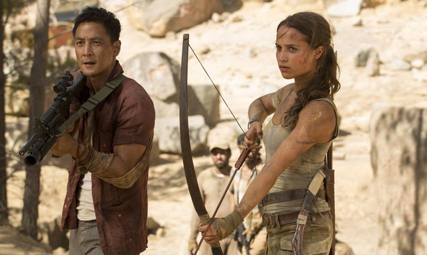 Кадр из фильма «Tomb Raider: Лара Крофт»