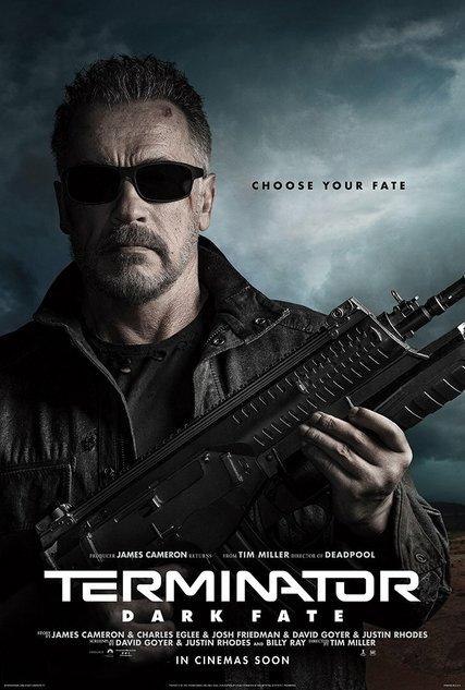 Постер фильма «Терминатор»