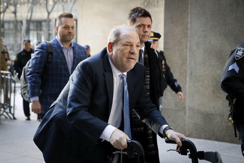 Вайнштейн перед судом. Фото с сайта img.tsn.ua