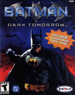Обложка игры Batman: Dark Tomorrow