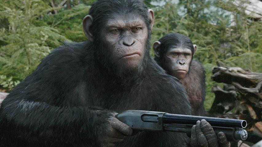 Кадр из фильма «Планева обезьян: Революция»