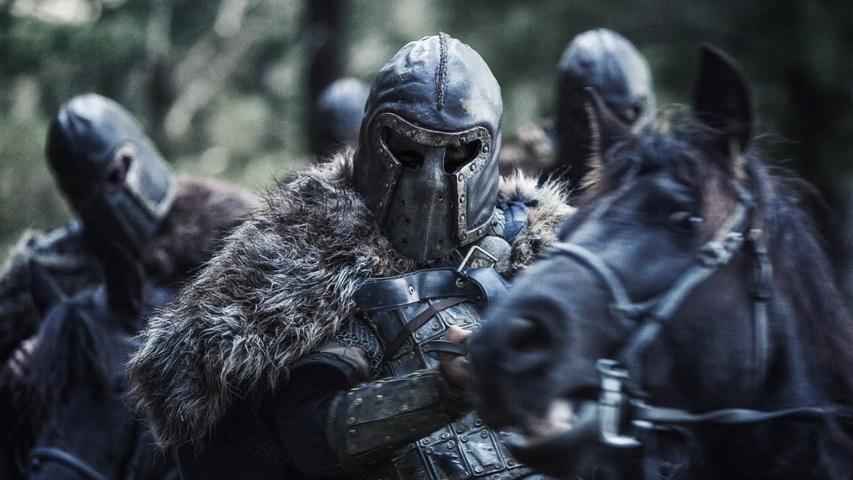 Кадр из фильма «Викинги»