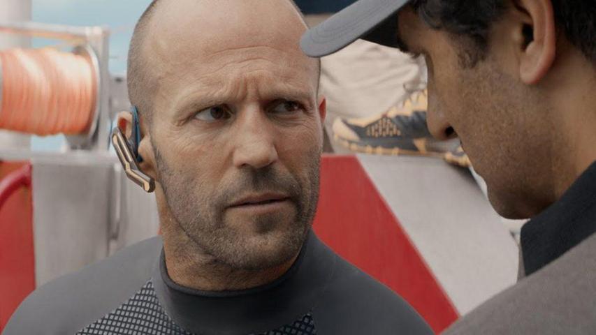 Кадр из фильма «Мег: Монстр глубины»