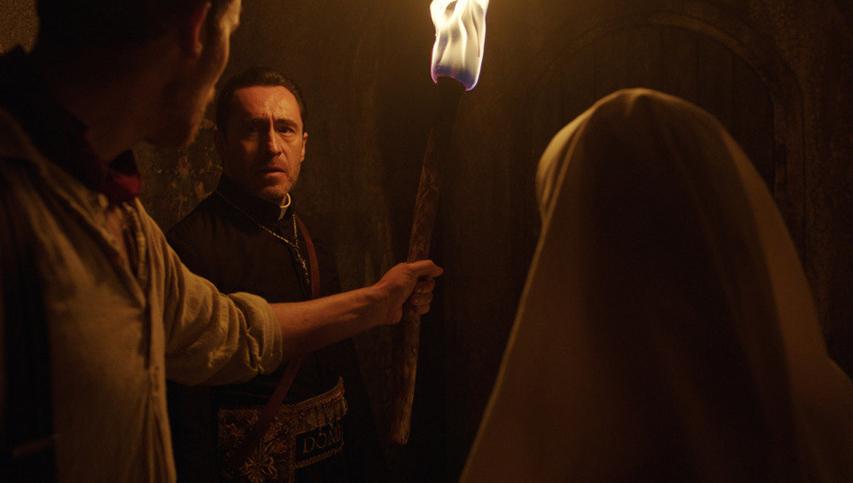 Кадр из фильма «Проклятие монахини»