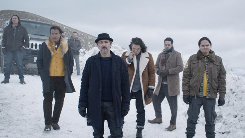 Кадр из фильма «Снегоуборщик»