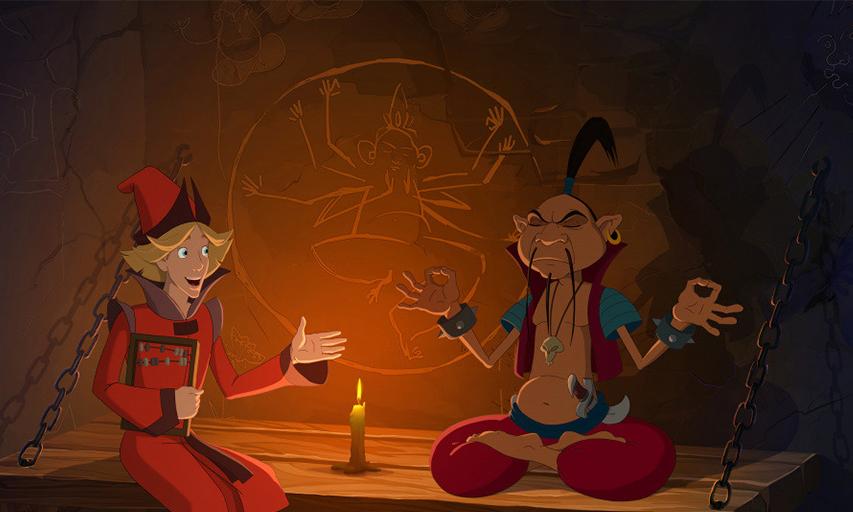 Кадр из фильма «Три богатыря и Наследница престола»