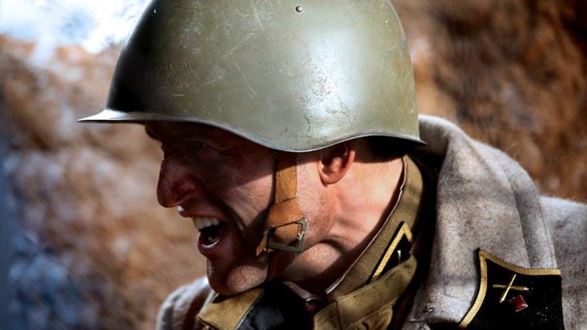 Кадр из фильма «28 панфиловцев»