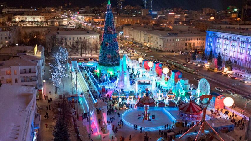 Ледовый городок. Фото с сайта ural-n.ru