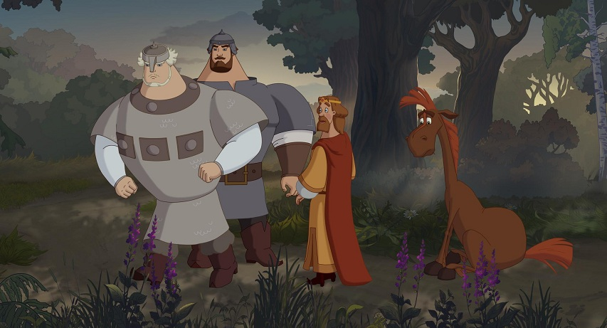 Кадр из фильма «Три богатыря: Ход конем»