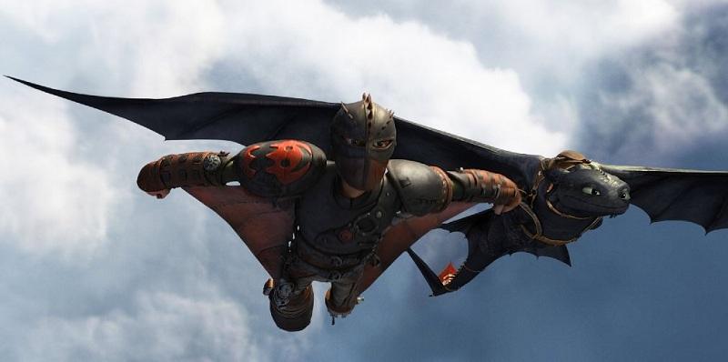 Кадр из фильма «Как приручить дракона 2»