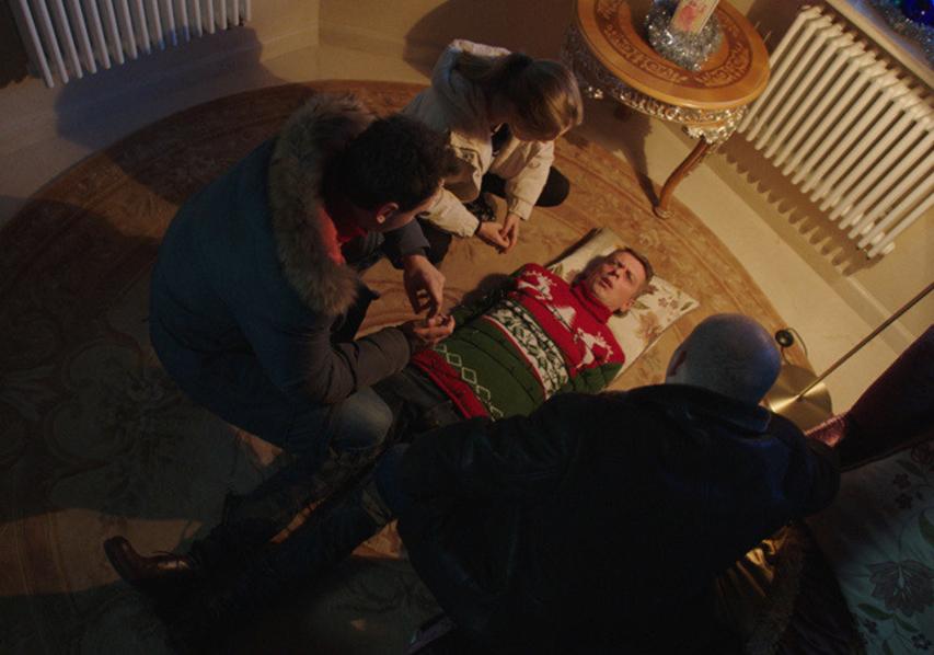 Кадр из фильма «Полицейский с Рублевки. Новогодний беспредел 2»