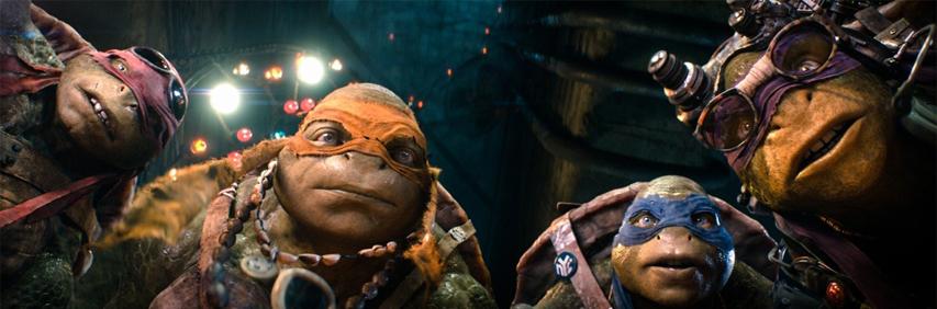 Кадр из фильма «Черепашки Ниндзя»