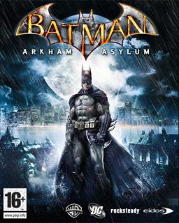 Обложка игры Batman: Arkham Asylum
