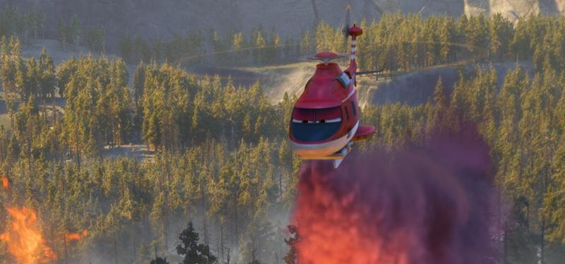 Кадр из фильма «Самолеты: Огонь и вода»