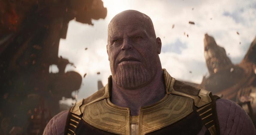 Кадр из фильма «Мстители 3»