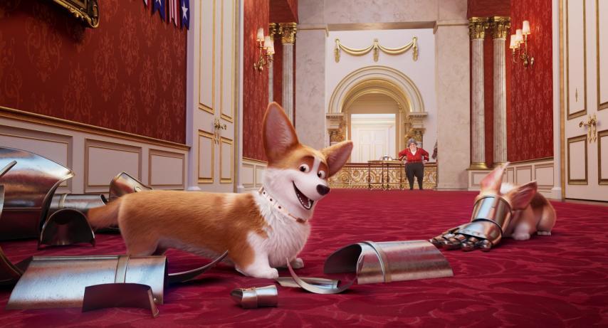Кадр из фильма «Королевский корги»