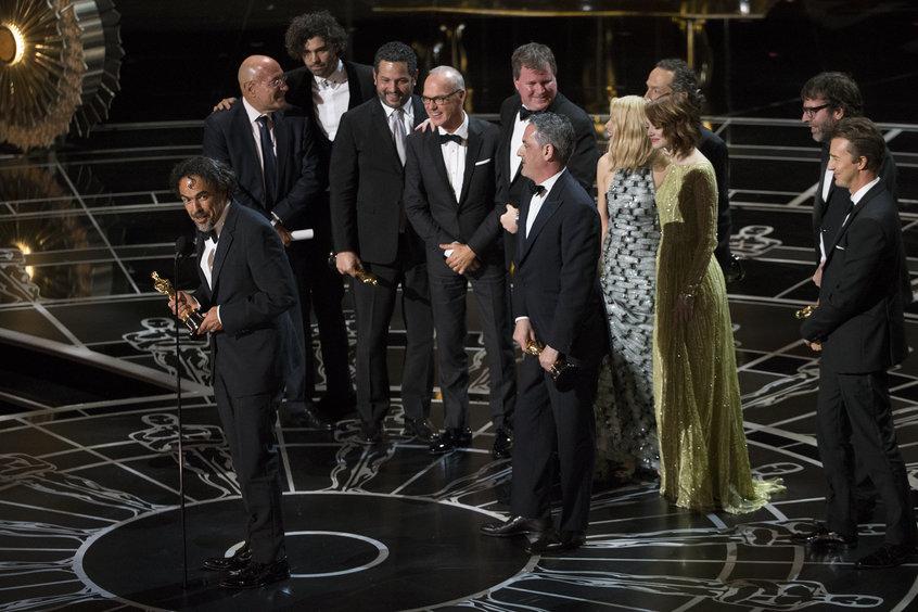 Группа фильма «Бёрдмэн». Фото с сайта oscar.go.com