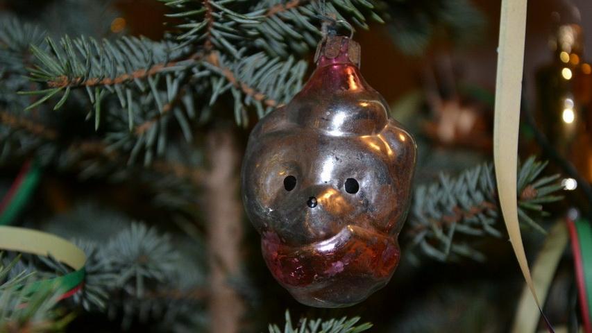 Елочная игрушка советских времен. Фото с сайта yaplakal.com