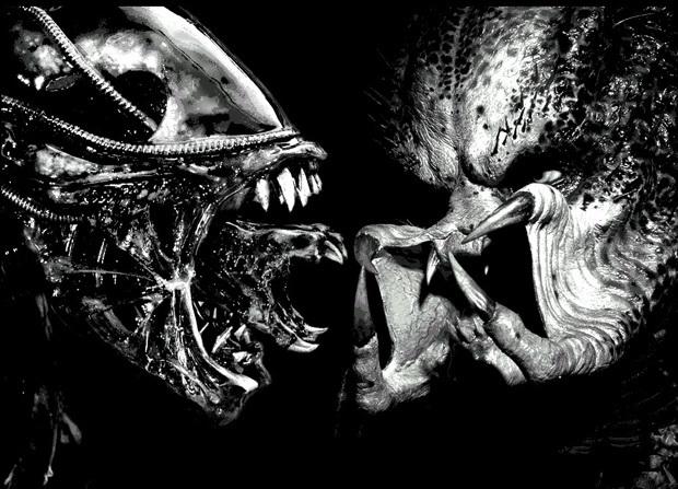 Постер фильма «Чужой против Хищника»