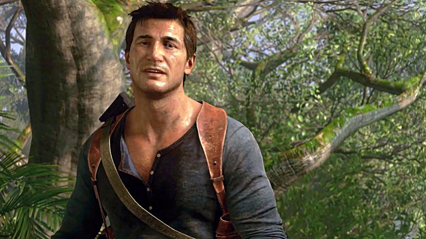 Кадр из игры «Uncharted»