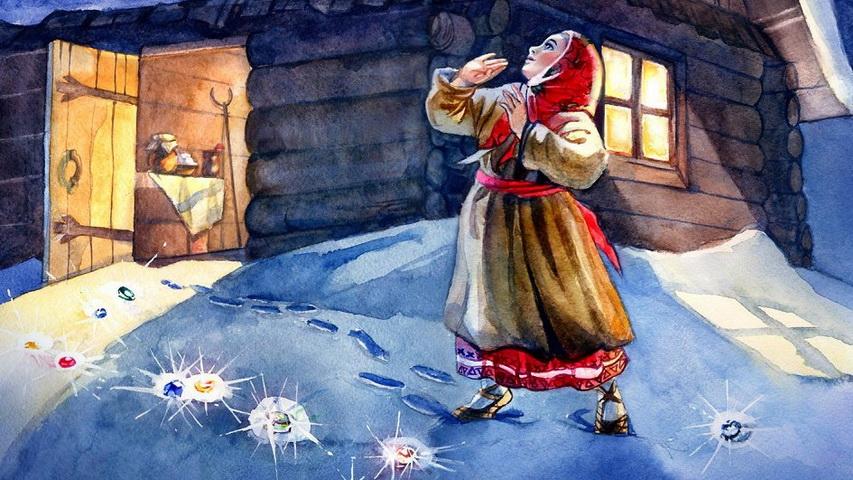 Выставка Путешествие в сказы Бажова. Изображение с сайта afisha.ru