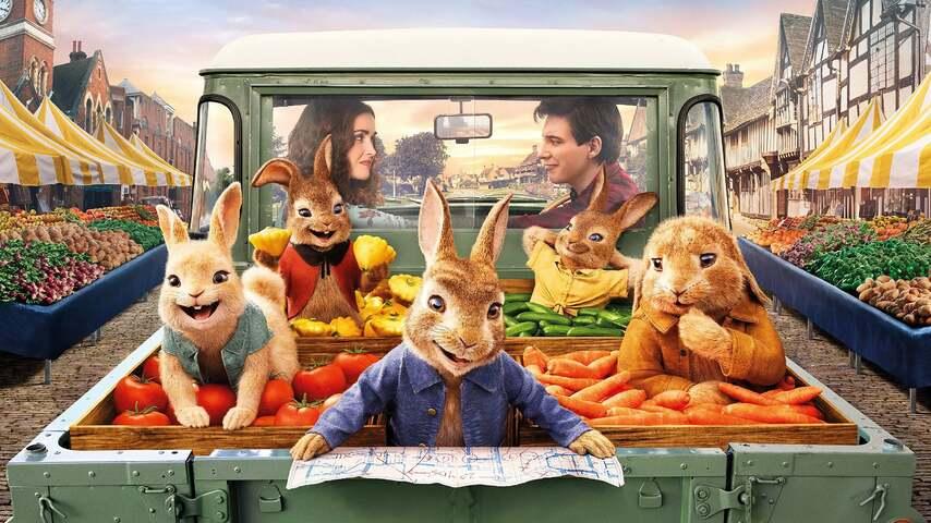 Постер фильма «Кролик Питер 2»