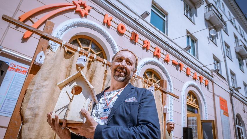 Николай Коляда. Фото с сайта вечерний-екатеринбург.рф