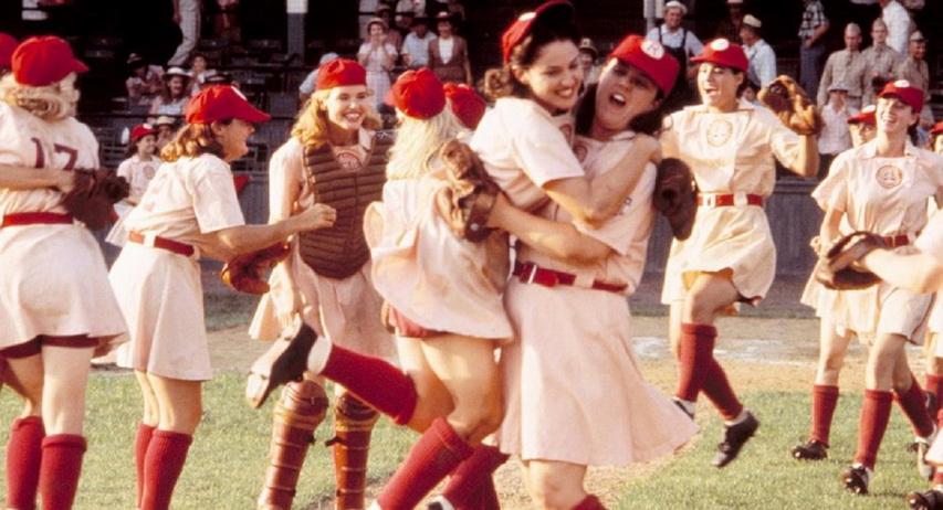 Кадр из фильма «Их собственная лига»