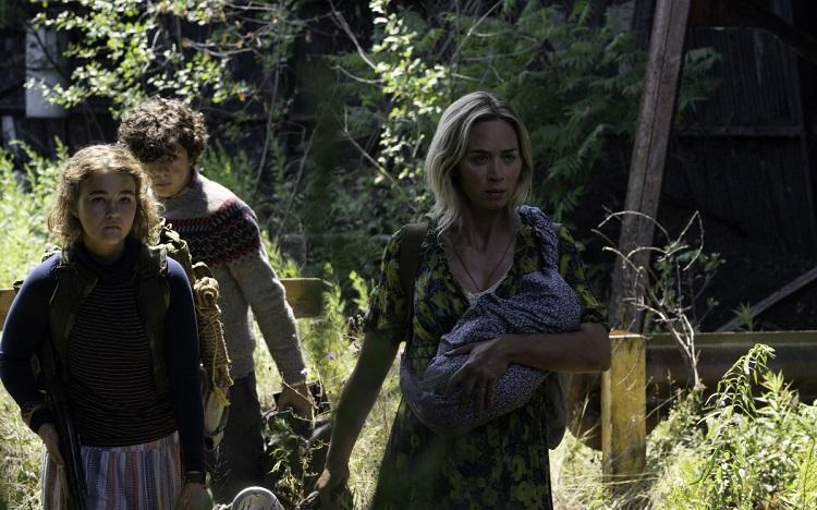 Кадр из фильма «Тихое место 2»