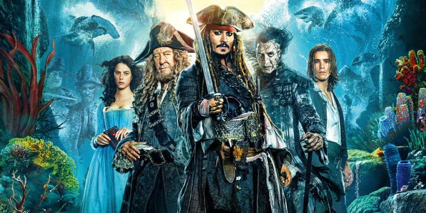 Постер фильма «Пираты Карибского моря»