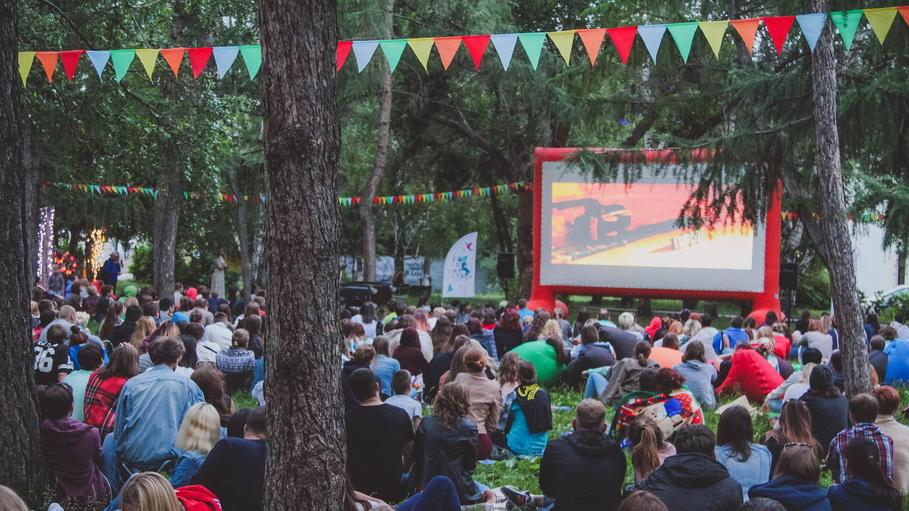Фестиваль уличного кино в Екатеринбурге 20-21 июля