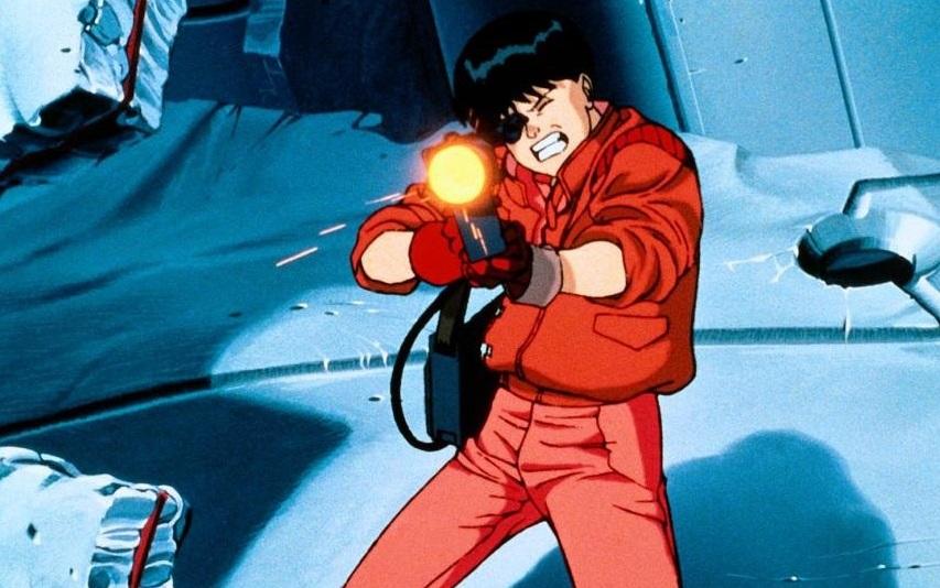 Кадр из мультфильма «Акира»