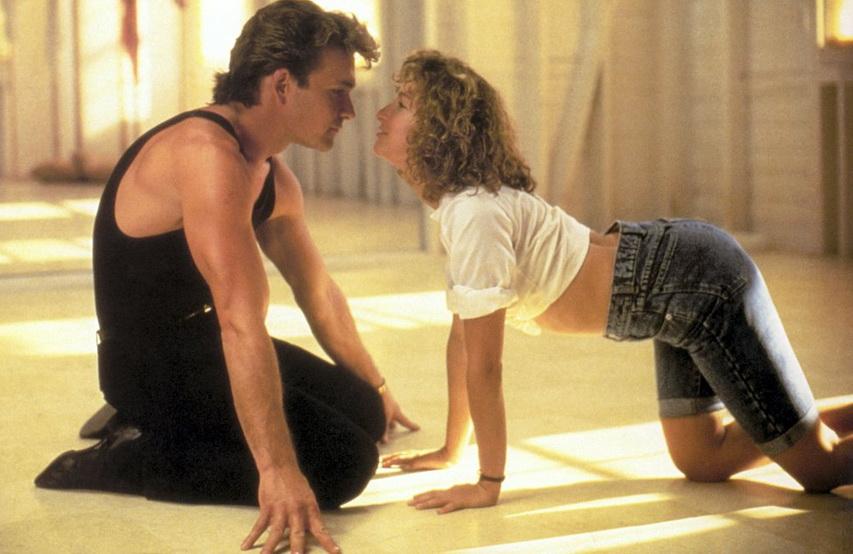 Кадр из фильма «Грязные танцы»