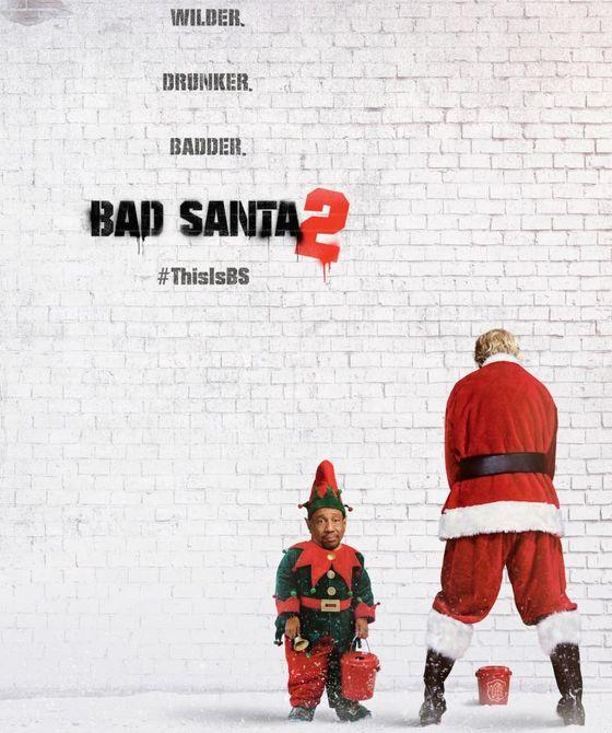 Постер фильма «Плохой Санта 2»