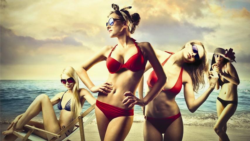 Наконец-то можно устроить настоящую пляжную вечеринку. Фото с сайта titanium.lv
