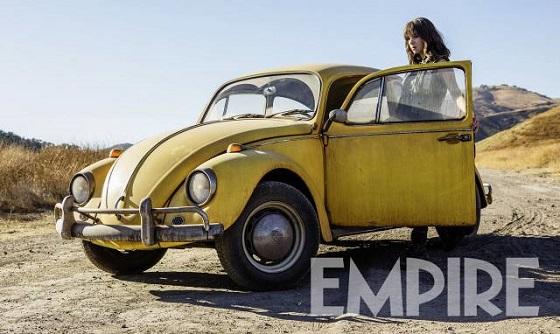 Кадр из фильма «Бамблби»