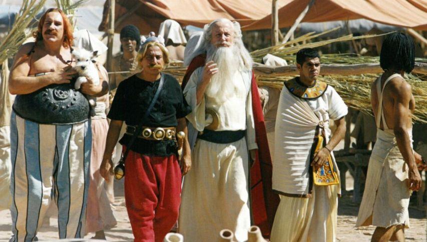 Кадр из фильма «Астерикс и Обеликс: Миссия Клеопатра»